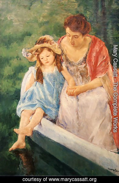 Mary Cassatt - Mother And Child In A Boat