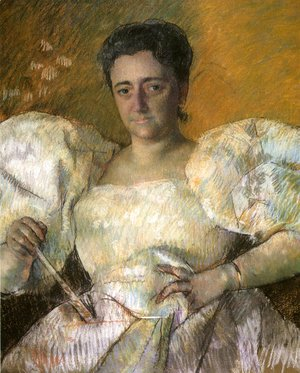 Mary Cassatt - Louisine W. Havemeyer