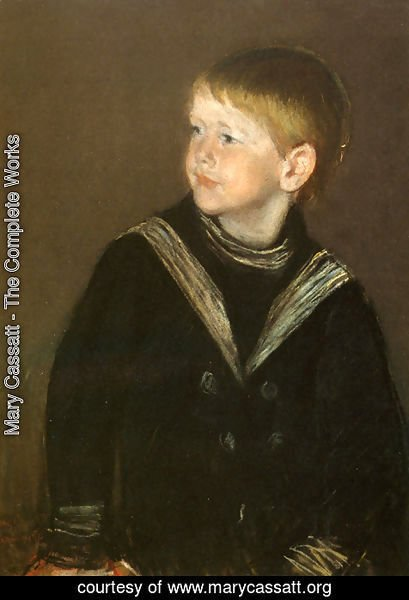 Mary Cassatt - The Sailor Boy: Gardener Cassatt