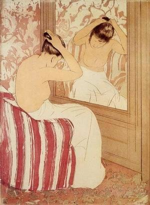 Mary Cassatt - The Coiffure (study)
