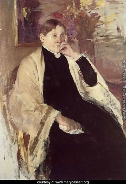 Mrs. Robert S. Cassatt (or Katherine Kelson Johnston Cassatt)