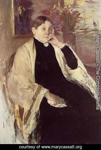 Mary Cassatt - Mrs. Robert S. Cassatt (or Katherine Kelson Johnston Cassatt)