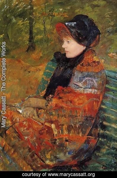 Mary Cassatt - Autumn (or Profile of Lydia Cassatt)
