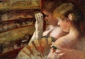 Mary Cassatt - A Corner of the Loge (or In the Box)