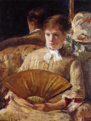Mary Cassatt - Portrait of a Lady (or Miss Mary Ellison)