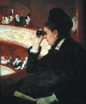 Mary Cassatt - In the Loge, 1879