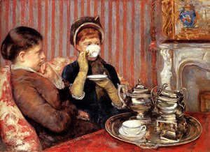 Mary Cassatt - The Tea, c.1880