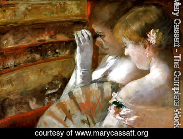 Mary Cassatt - In the Box