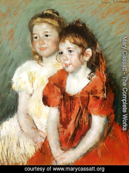 Mary Cassatt - Young Girls, c.1900