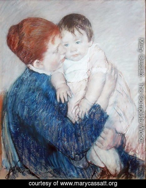 Agatha and Her Child, 1891