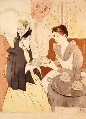 Mary Cassatt - Afternoon Tea Party
