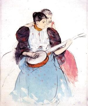 Mary Cassatt - The Banjo Lesson, 1893