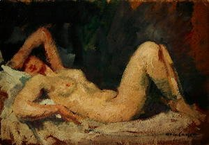 Mary Cassatt - Reclining Nude