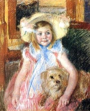 Mary Cassatt - Sara and her Dog, c.1901