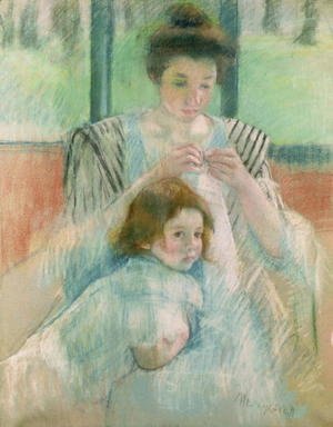 Mary Cassatt - Mother and child 2