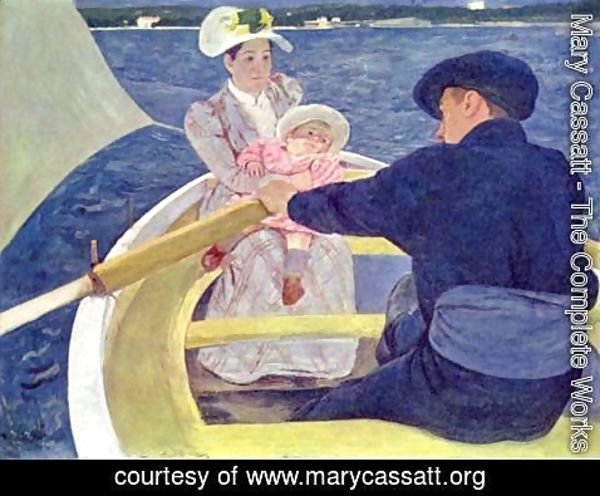 Mary Cassatt - The Boating Party, 1893-94