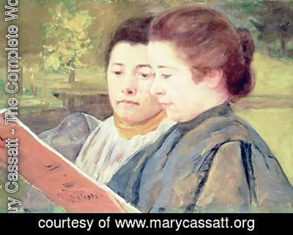 Mary Cassatt - Women Reading
