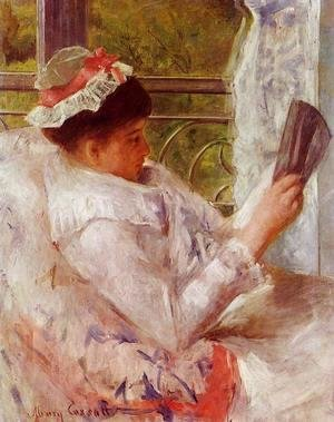 Mary Cassatt - The Reader (Lydia Cassatt) c.1878