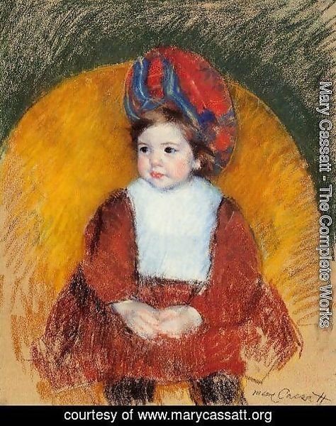 Mary Cassatt - Margot, 19th century