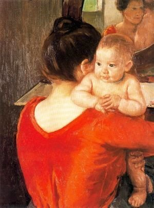 Mary Cassatt - Mother and Child, 1900