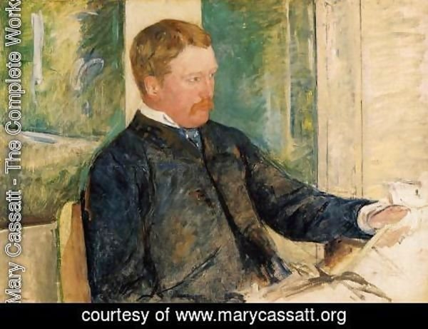Mary Cassatt - Portrait of Alexander J. Cassatt, c.1880