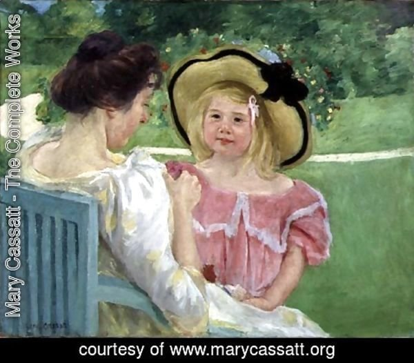 Mary Cassatt - In the Garden, 1904