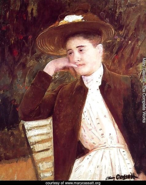 Celeste in a Brown Hat, 1891