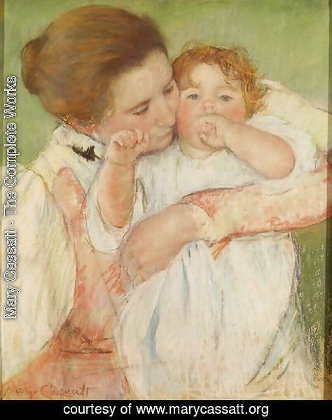 Mary Cassatt - Mother and Child, 1897