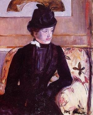 Mary Cassatt - Mrs. Gardner Cassatt in Black