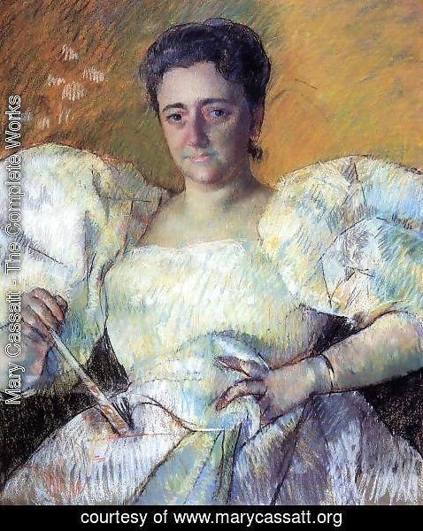 Mary Cassatt - Portrait of Mrs. H. O. Hevemeyer