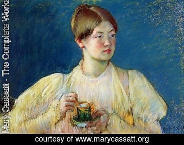 Mary Cassatt - The Cup of Tea I