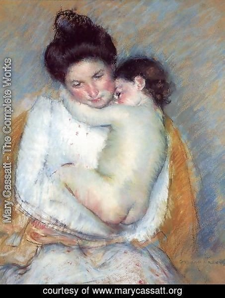 Mary Cassatt - Mother and Child V
