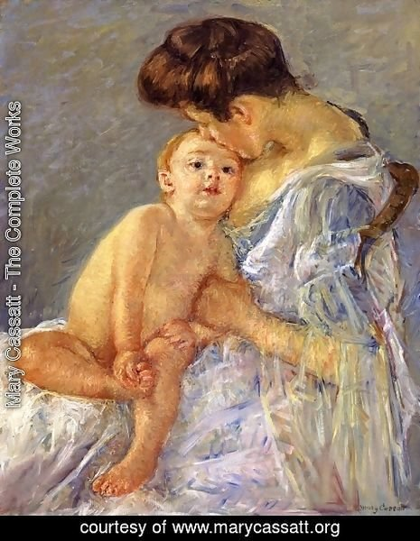 Mary Cassatt - Motherhood II