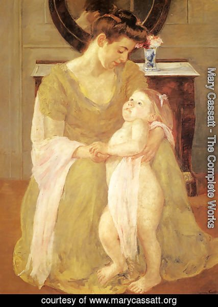 Mary Cassatt - Mother And Child X
