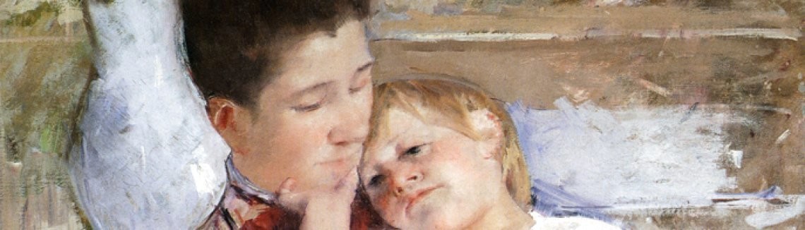 Mary Cassatt - Mother And Child XI