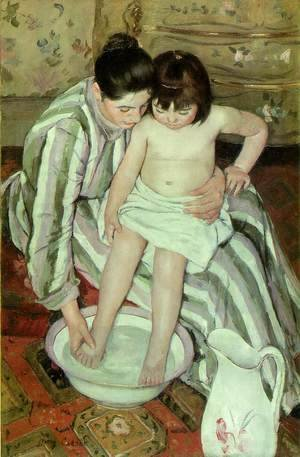 Mary Cassatt - The Bath 2