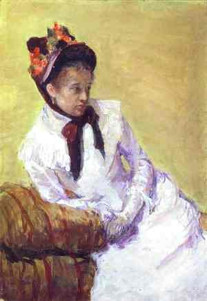 Mary Cassatt - Self Portrait 3