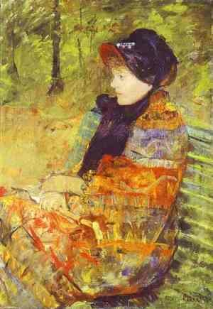 Mary Cassatt - Profile Portrait of Lydia Cassatt