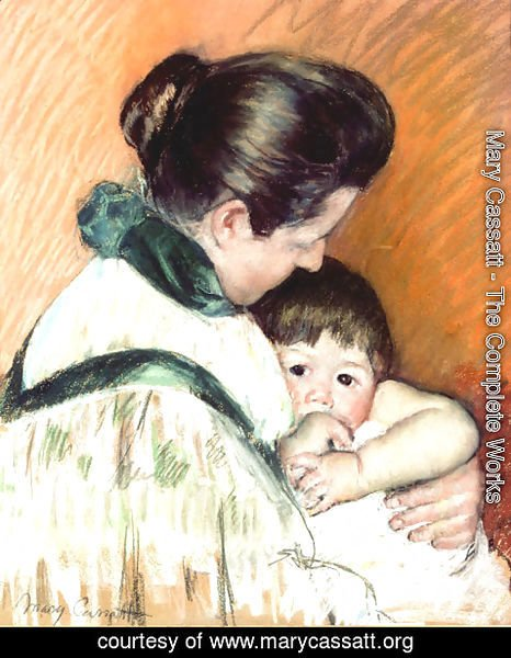 Mary Cassatt - Mother and Child 3
