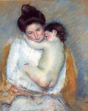 Mary Cassatt - Mother and Child 1900-2