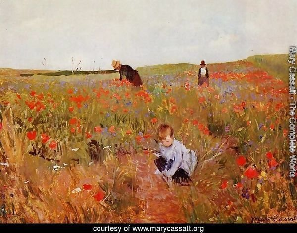Poppies in a Field 1874-1880