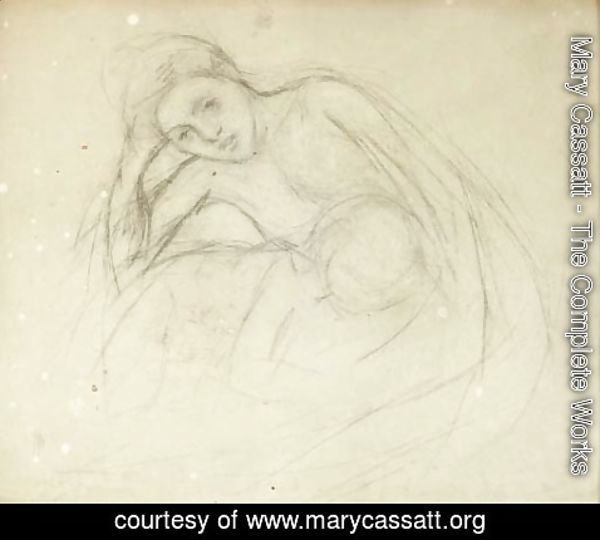 Mary Cassatt - Mother and Child 5