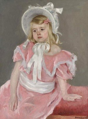 Mary Cassatt - Sara Seated, Leaning on Her Left Hand