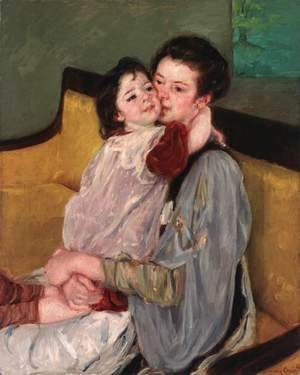 Mary Cassatt - Caress Maternelle