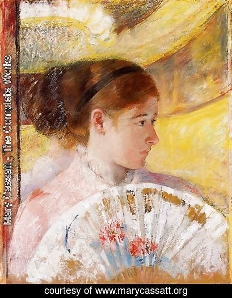 Mary Cassatt - At The Theater