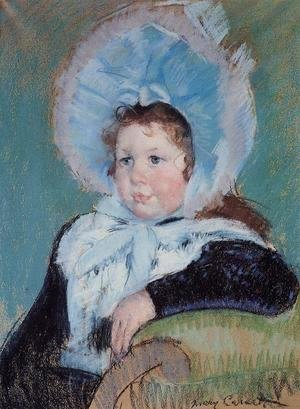 Mary Cassatt - Dorothy In A Very Large Bonnet And A Dark Coat