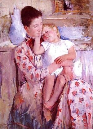 Mary Cassatt - Emmie And Her Child