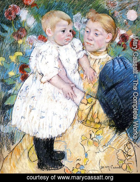 Mary Cassatt - In The Garden