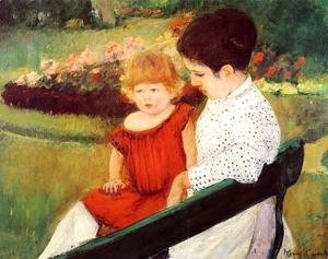 Mary Cassatt - In The Park