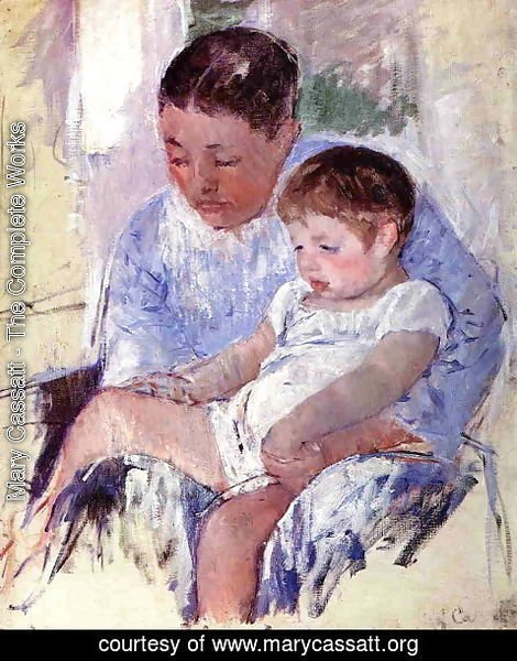 Mary Cassatt - Jenny And Her Sleepy Child